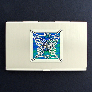Butterfly Business Card Holder Cases
