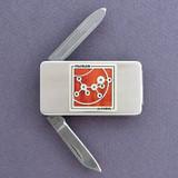 Alcohol Money Clip Pocket Knife