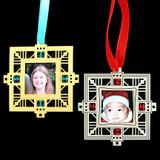 Keepsake Photo Frame Christmas Ornaments