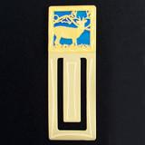 Deer Engraved Bookmark