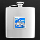Blue Truck Flask - 6 oz.