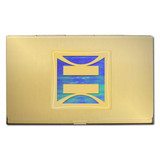 Gay Pride Metal Card Holder