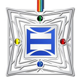 Gay Pride Ornament with Equality Symbol