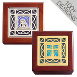 Personalized Wooden Rosary Boxes