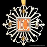 10th Anniversary Ornament