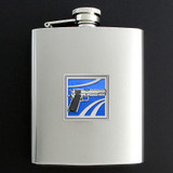 Gun Flasks - Personalized 8 Oz Stainless Steel