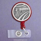 Gun ID Name Badge Holders