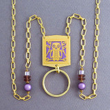 Owl Beaded Lanyard Necklaces or Eyeglasses Holders