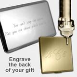 Metal Case Engraving Service