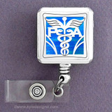 Physician's Assistant Square ID Badge Holder