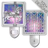 Purple Night Lights - 100+ Designs