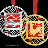 Red Christmas Ornaments - 100+ Designs