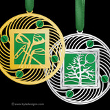 Green Christmas Ornaments - 100+ Designs