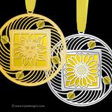 Yellow Christmas Ornaments - 100+ Designs