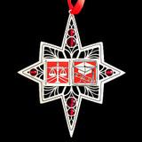 Red Law School Graduation Ornament