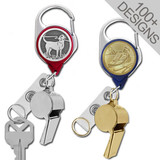 Carabiner Key & Whistle Holder - 100+ Creative Designs