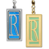 Monogrammed Letter R Ceiling Fan Pull Chain