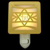 Jewish Star of David Night Light