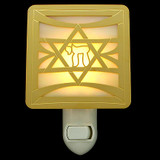 Jewish Star of David Night Light