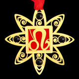 Leo Astrology Sign Christmas Ornaments