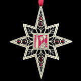 Red Wine Christmas Ornament
