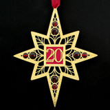 20th Year Holiday Ornaments
