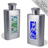 Personalized Skinny Flasks 2 Oz