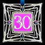 30th Birthday or Anniversary Ornament