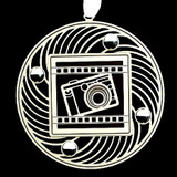 Personalized Photography Camera Ornaments
