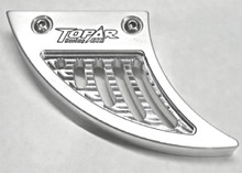 KTM 950 and 990 ADVENTURE LOWER CHAIN GUARD FIN FITS 2003-2012 BILLET ALUMINUM