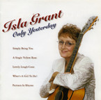 Isla Grant - Only Yesterday album on CD