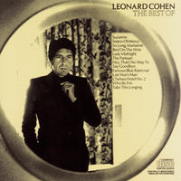 Leonard Cohen - Greatest Hits album on CD