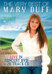 Mary Duff - The Very Best Of Mary Duff on DVD and CD