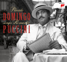 Placido Domingo - Domingo Sings Romantic Puccini Album on CD