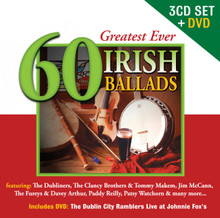 Various Artists - 60 Greatest Ever Irish Ballads 3CD+DVD