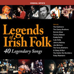 Various Artists - Legends of Irish Folk 2CD