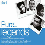 Various Artists - Pure Legends 4CD