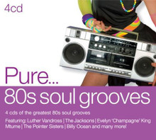 Various Artists - Pure 80's Soul Grooves 4CD