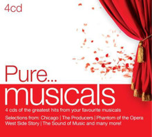 Various Artists - Pure Musicals 4CD