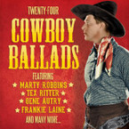Various Artists - Twenty Four Cowboy Ballads CD