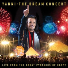 Yanni - The Dream Concert Live From The Great Pyramids Of Egypt CD/DVD