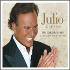 Julio Iglesias - The Greatest Hits (Australian Tour Edition) CD