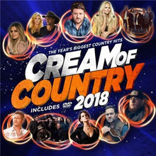 Various Artists - Cream Of Country 2018 CD/DVD