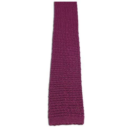 Silk knit ties