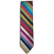 Chipp Silk Shantung Stripe Tie