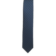 Blue Ancient Madder Miniature Diamond Print Tie