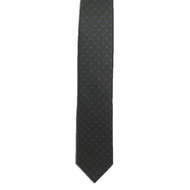 Brown Ancient Madder Miniature Diamond Print Tie