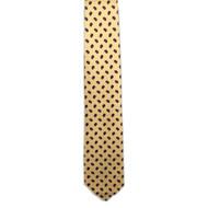 Bean Print Foulard Tie