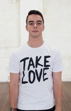 Classic Take Love Tee - White