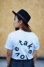 We Take Love Tee - White